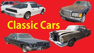 Old Classic Lot Walkaround Video Cars Projects Barn Find Car #1