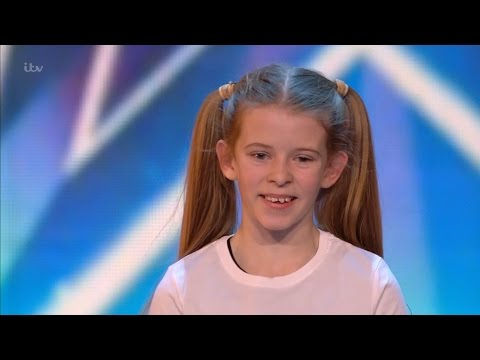 Paisley Kerswell - Britain's Got Talent 2016 Audition week 1