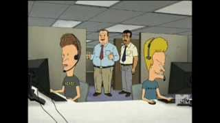 Beavis & Butthead - Tech Support Motto