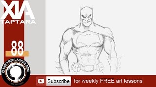 How to draw Batman, Dark Knight