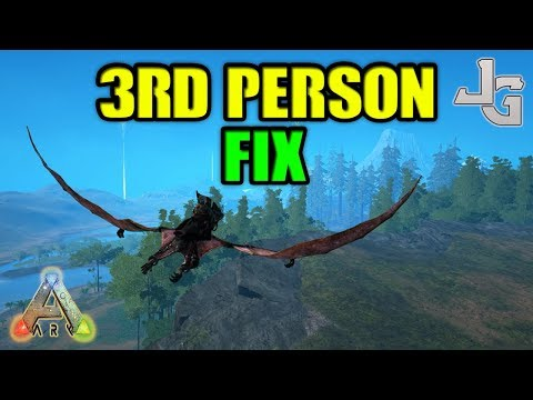ARK - 3rd person FIX - easy way to fix the weird third person view - Devil knows how to fix it!