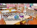 Surviving the 1st Year // Designing Your Classroom Layout