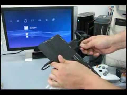 XCM HDMI DVI Crossover Selector on monitor - Видео