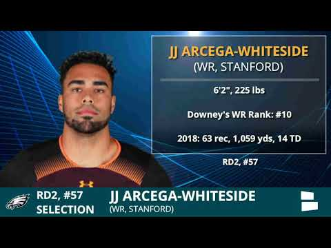 J.J. Arcega-Whiteside Drafted By Eagles With Pick 57 In Round 2 of 2019 NFL Draft - Grade & Analysis