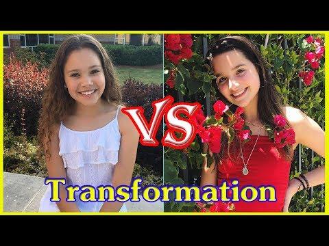 Annie LeBlanc vs Sierra Haschak transformation from 1 to 14 years old