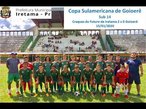 Copa Internacional de Goioerê Sub 14 / Craques do Futuro 2 x 0 Goioerê