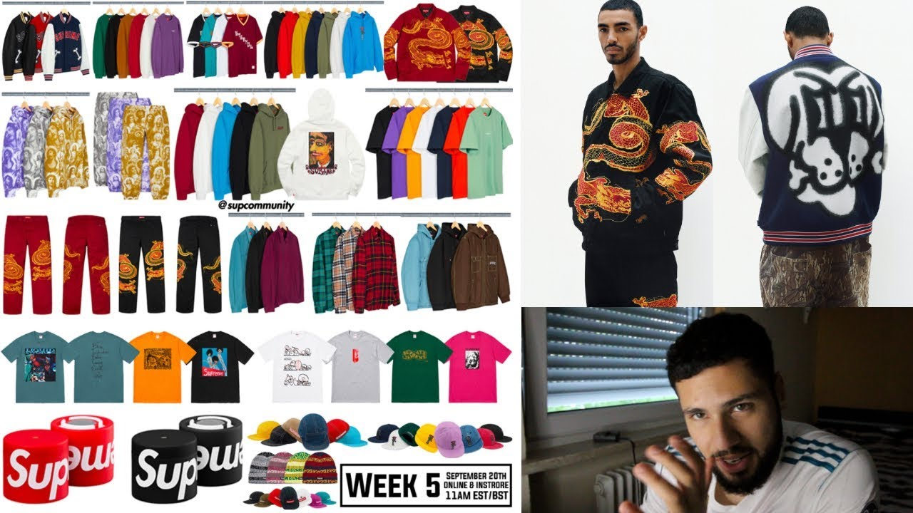 0fbee33d368c Supreme FW18 Week 5 - Full Droplist (Thoughts&Resale Prediction ...