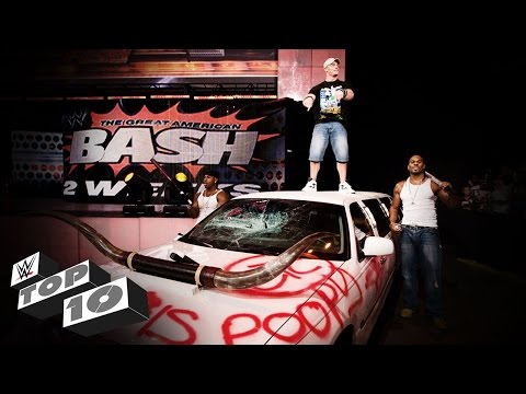 Thumbnail: Vehicular Demolitions: WWE Top 10