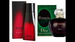 Hugo Boss Intense+Dior Poison For Women Review