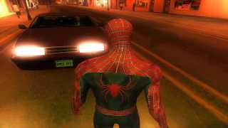 GTA San Andreas Spiderman Mod v1.0 2013