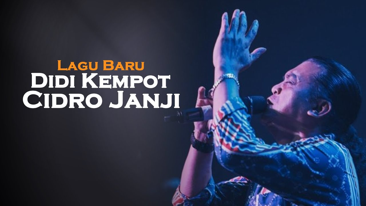 Cidro Janji Didi Kempot Ambyar Youtube