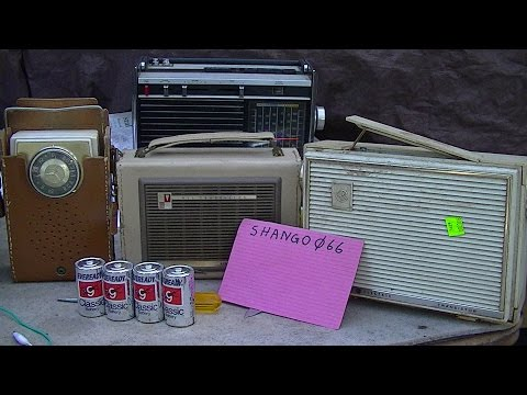 Analyzing 4 Vintage Tube and Transistor Radios