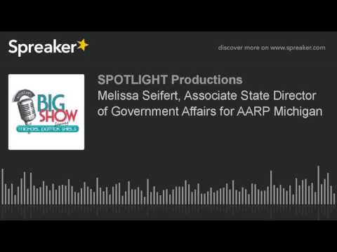 Melissa Seifert, Associate State Director of Government Affairs for AARP Michigan