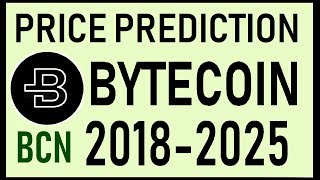 BYTECOIN [BCN] REAL PRICE PREDICTION  2018-2025⚡BEST CRYPTO INVESTMENT⚡$$$