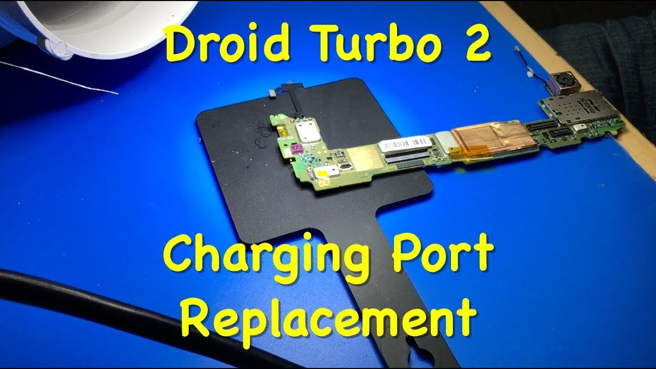 Motorola Droid Turbo 2 Charging Port Repair, Xt1585