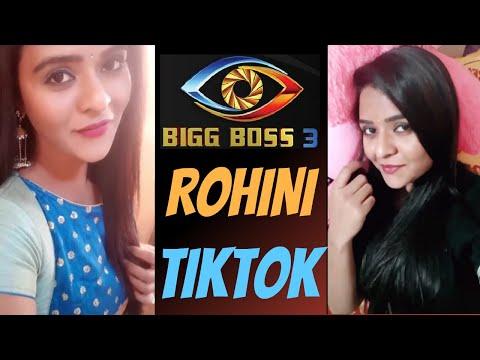Rohini Tiktok   Bigg Boss Telugu 3 Contestant