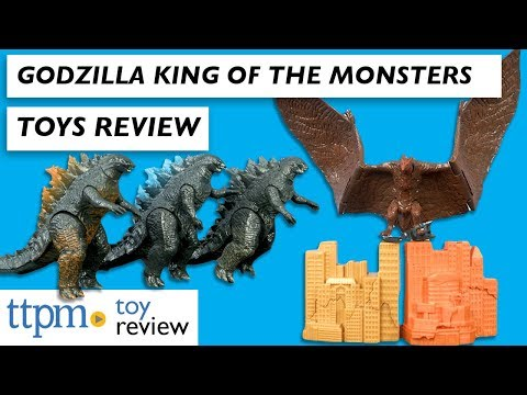 Toy Review | Godzilla King Of The Monsters Toys From Jakks Pacific