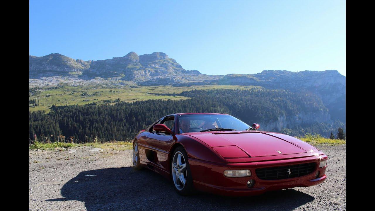 The Italian Job Intro Ferrari 355 Remake Youtube
