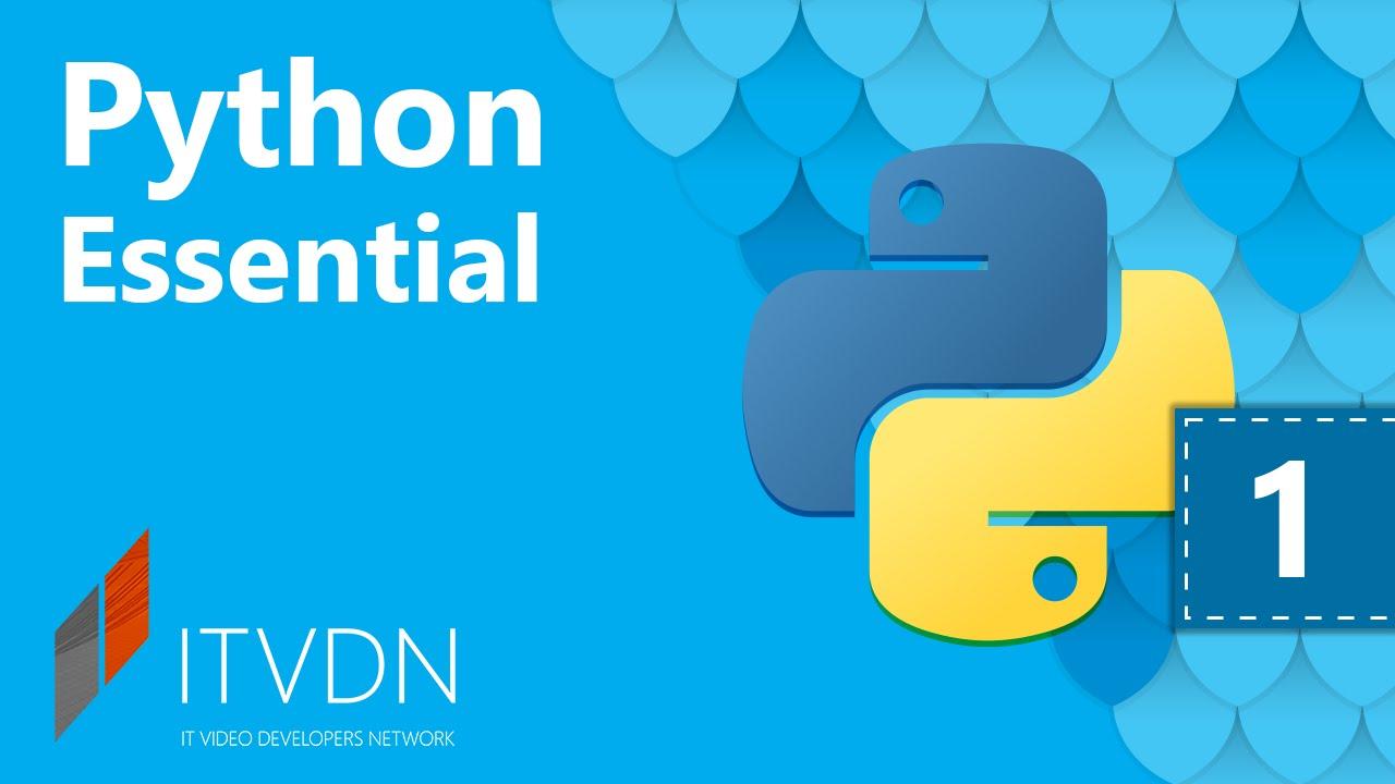 Урок 1. Введение в ООП. Рython Essential.