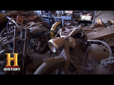 American Pickers: Mike Scores A Cool Harley Rooster Tail (Season 4)   History