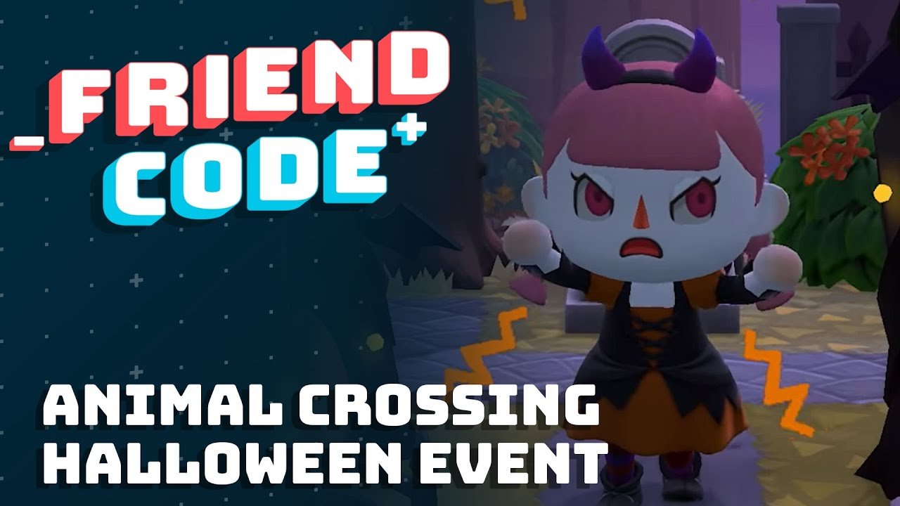 Friend Code - Animal Crossing Halloween Event 2020 - Ian, Blood, and Damiani share their impressions of the Halloween Update for Animal Crossing: New Horizons, the recent Pikmin 3 Deluxe Demo, the latest update fo