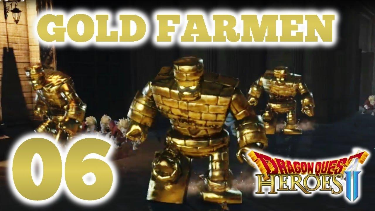 Dragon quest heroes 2 farming gold best dragon for sorcerer black blue silver gold