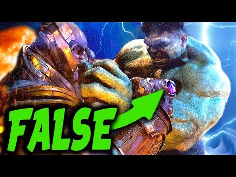 CONFIRMED: The REAL REASON Why THANOS Easily Beat The Hulk & What it Means for Avengers EndGame