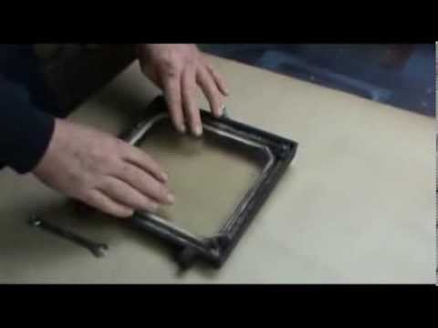 Replacing the Hobbit stove glass - Replacing The Hobbit Stove Glass - YouTube