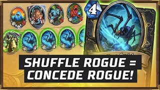 Shuffle Rogue = Concede Rogue! | The Boomsday Project | Hearthstone