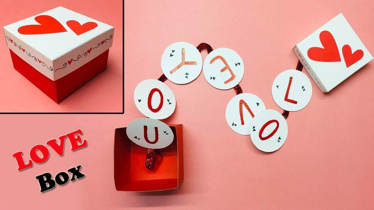Love Box Card  Love Greeting Cards Latest Design Handmade  I Love You  Card Ideas 5  #5