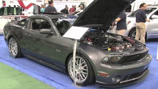 VMP Tuning's 700+ HP 2012 5.0L Mustang found at SEMA 2011