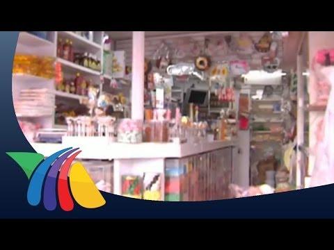 Tienda de dulces, negocio todo el año