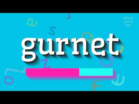 "How to say ""gurnet""! (High Quality Voices)"