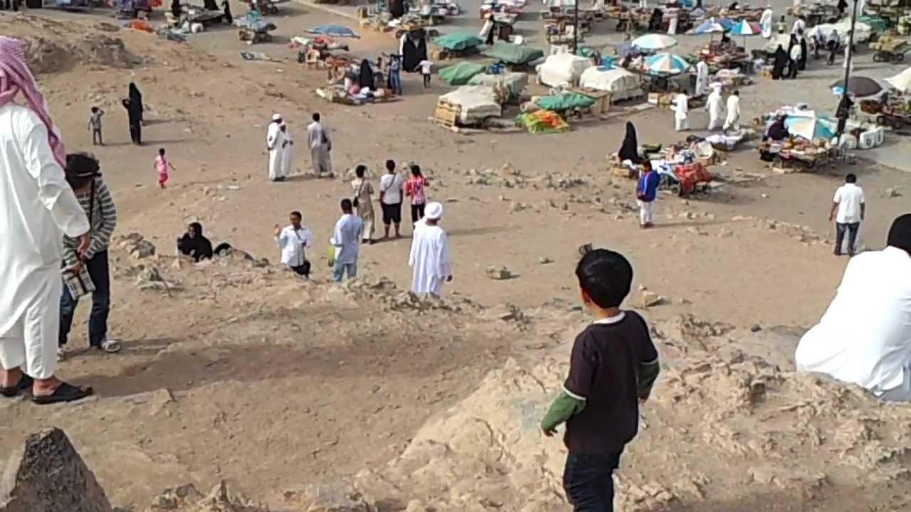 تصوير قبر حمزه والشهداءو جبل احد من على جبل الرماه Mp4 Youtube