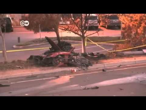 paul walker auto unfall crash mit laternen mast youtube. Black Bedroom Furniture Sets. Home Design Ideas
