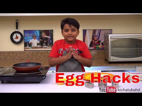 How to cook egg in different ways  | Egg Hacks Tricks & Recipes | fun cooking with egg