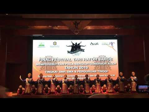 Ratoh Jaroe SMAN 11 Tangerang Selatan [Final Piala Bergilir Gubernur Aceh 2019]