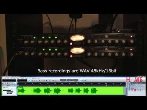 Presonus Studio Channel Bass DI Test