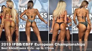 2019 IFBB/EBFF Best Bikini Girls up to 172cm - FINAL