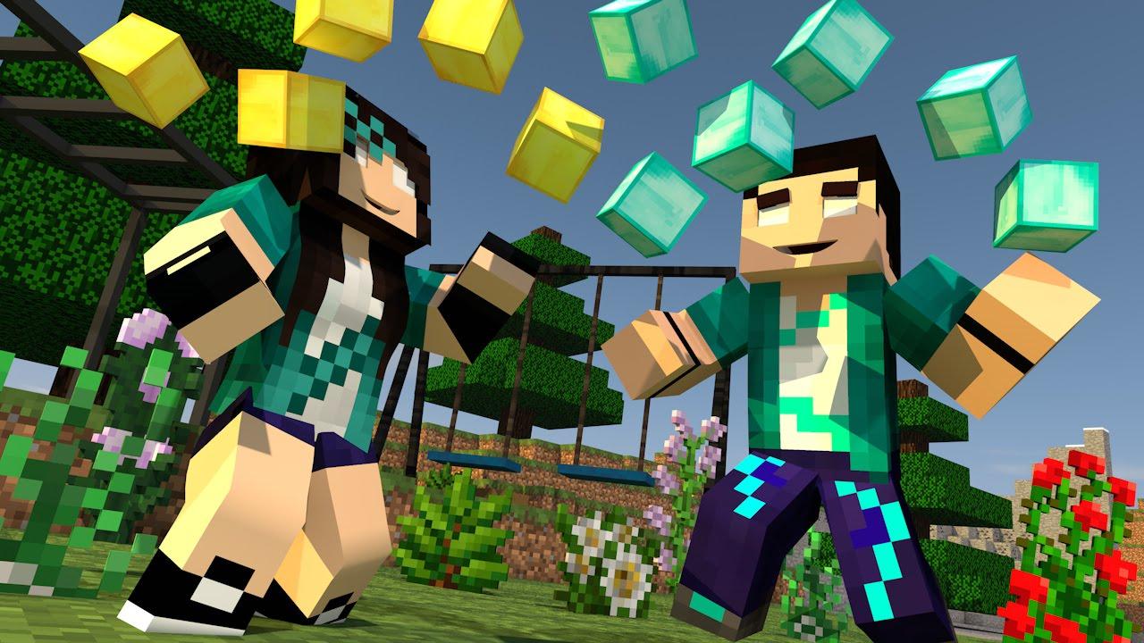 Minecraft vida real 19 estamos ricos comes alive for Videos de minecraft en la vida real
