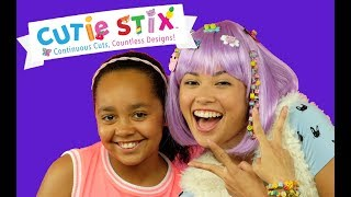 Cutie Stix! DIY Craft For Kids - Kids Toy Review | Toys AndMe & Trixie