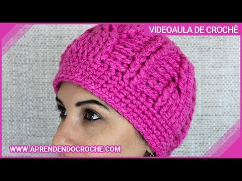 Gorro Crochê Cannes - Aprendendo Croche - YouTube 013d4582da3