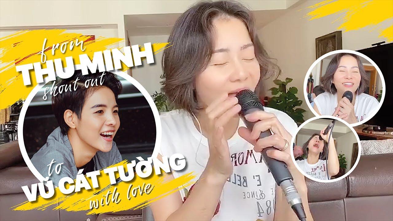 Chị Thu Minh shout out to bé Vũ Cát Tường | IF (cover)