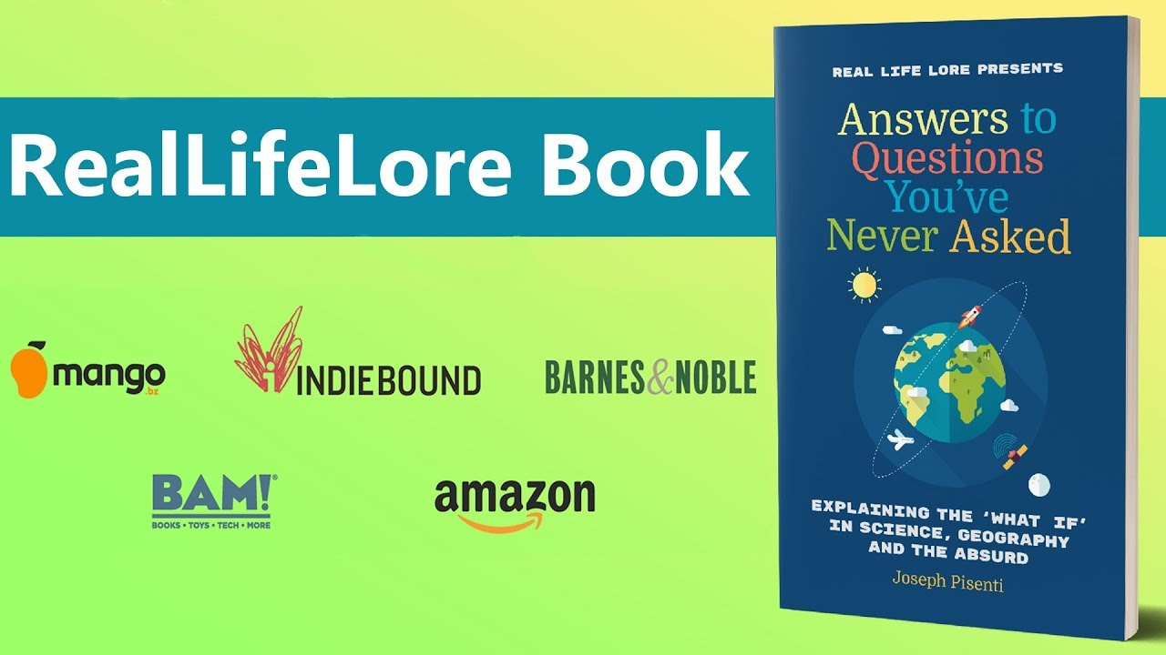 The RealLifeLore Book Announcement