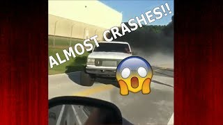 Obs Powerstroke ALMOST CRASHES!! | Diesel truck compilation |