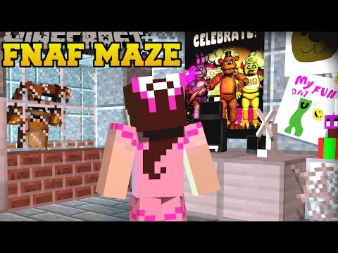 Minecraft: FIVE NIGHTS AT FREDDY'S MAZE