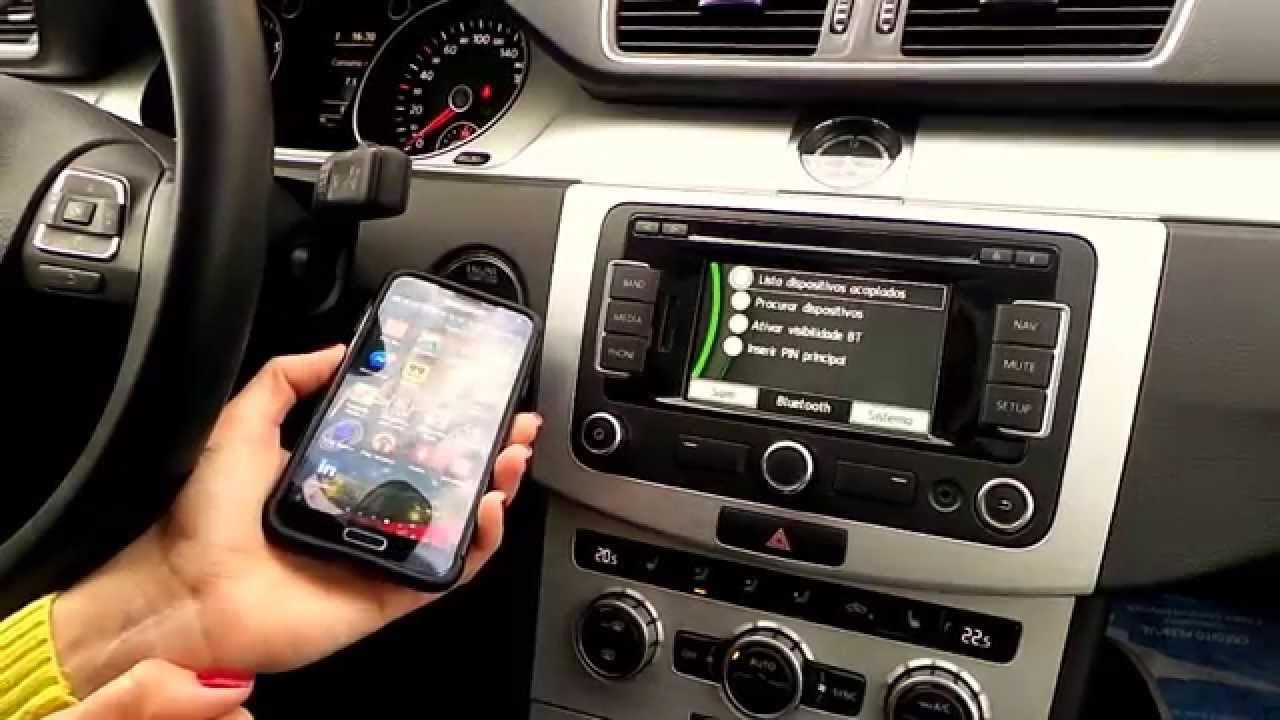 como conectar o celular no bluetooth do carro passat cc. Black Bedroom Furniture Sets. Home Design Ideas