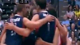 Liga Mundial de Volei Masculino 2013: Estados Unidos 3 x 1 Argentina [ FIVB World League ]