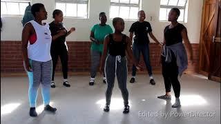 Ematshwaleni dance by Eric Mtshali secondary school