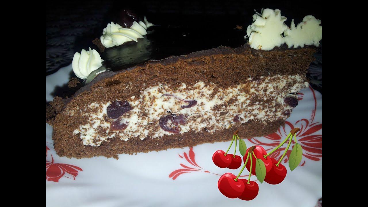 торт из вишни видео рецепт